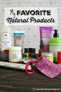 There are many harmful chemicals in common beauty products and truly natural alternatives that work are hard to find. So, I've collected some of my favorite quality, natural products that really work!