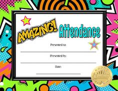 Acknowledge excellent attendance with this Amazing Attendance Certificate! Middle School Science, Elementary Science, Science Education, Science Activities, Science Ideas, Upper Elementary, Co Teaching, Teaching Tools, Teaching Resources