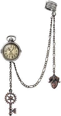 """Alchemy Gothic Ohrstecker """"Uncle Albert's Timepiece"""" • EMP"""