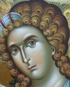 Engel (detail): Archangels, Spiritual Art, Byzantine Art, Writing Icon, Image Icon, Orthodox Christian Icons, Art Icon, Angel Art, Sacred Art