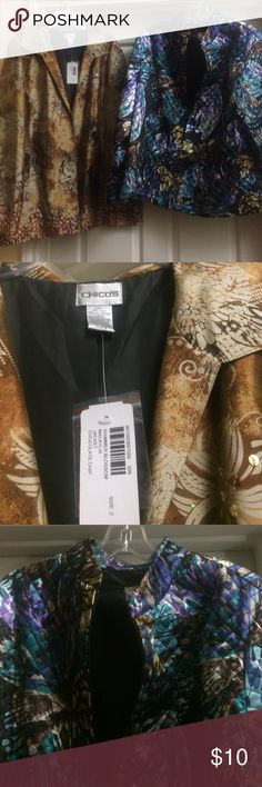 Buy one get one for free Buy Chico's jacket & get TanJay for free.  Never worn Jackets & Coats