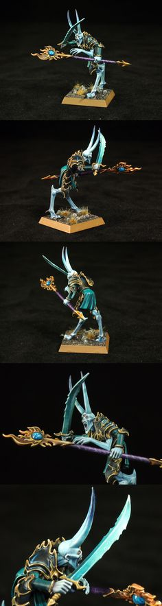 The Internet's largest gallery of painted miniatures, with a large repository of how-to articles on miniature painting Thousand Sons, 28mm Miniatures, Warhammer Fantasy, Warhammer 40000, Moldings, Love Painting, Wizards, Plastic Models, Elves