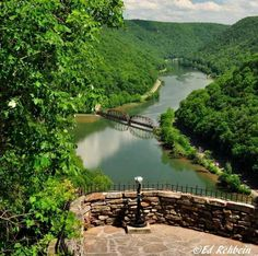 Hawks Nest State Park,West Virginia