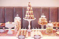 Zuckermonarchie - Cupcakes, Sweets, Zur Goldenen Hochzeit  #Gold #GoldeneHochzeit #Tischdekoration