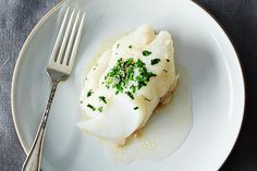 Baked Fish with Butter & Sherry by food52: 20 minutes #Fish #Butter #Sherry