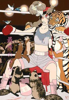 Hilarious:  Mundos animales de Yumiko Kayuwaka | Kawabonga