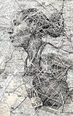 Image result for metro map pencil drawing
