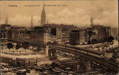 Ansichtskarte / Postkarte Hamburg Mitte, Rödingsmarkt mit | akpool.de