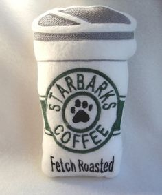 The finer things in life for a dog..... Starbarks Coffee!!! She likes Fetch Roasted please??!!!