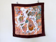 SOLD Vintage Silk Scarf Neiman Marcus Made in Italy by VintageRenude