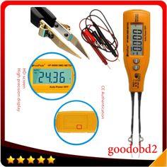 16.80$  Watch now - http://aliqfz.shopchina.info/1/go.php?t=32732471810 - Auto range digital multimeters hp-992b SMD Multimeter Diode Capacitance Resistance Tweezers Meter tool Auto Range tester tools  #magazine