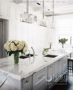 Love this clean gray. Great color with gray based marble.