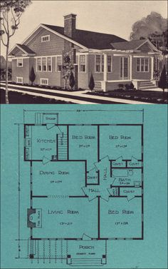 1924 Stetson & Post Seattle Homes - Olympic