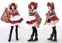 Kyoto 8 Stylish Maid set