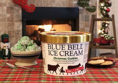 "3,778 Likes, 418 Comments - Blue Bell (@bluebellicecream) on Instagram: ""Christmas is just around the corner, but our Christmas Cookies Ice Cream is in stores beginning…"""