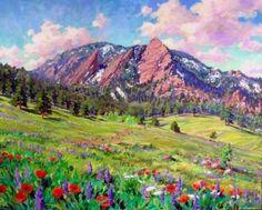 Jim Mayne Freeheart, Boulder Fine Artist, Painter
