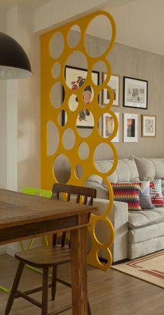 modern home decor Living Room Partition Design, Room Partition Designs, Interior Design Living Room, Living Room Decor, Retro Living Rooms, Modern Room, Home And Living, Wall Decor, Decoration