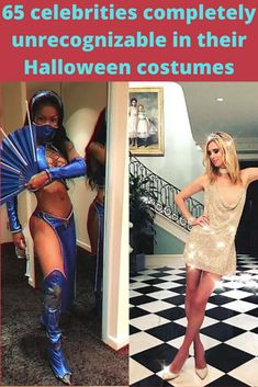 """Celebrities do Halloween """"way big."""" After all, they have the funds, stylists, and make-up artists to help them. So, each year we can look forward to seeing their spectacular Halloween transformations. Summer Gel Nails, Flower Phone Wallpaper, Sunset Wallpaper, Butterfly Wallpaper, Fitness Magazine, Pretty Wallpapers, Circuit Tattoo, Rustic Toilets, Hippie Accessories"""