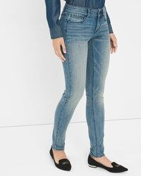 Curvy Skinny Jeans - Shop Women's Jeans - Skinny, Tall, Slim Fit, High Rise, Curvy & Bootcut Jeans - White House Black Market Curvy Skinny Jeans, Skinny Jeans Style, Brown Suede Jacket, Curvy Fit, White Jeans, Style Inspiration, Women's Jeans, Clothes, House