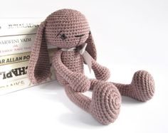 PATTERN: Bunny - Long-legged toy rabbit - Amigurumi tutorial - Crochet pattern - EN-002