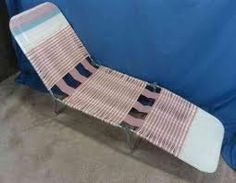 lounge chairs that my arm or leg would get stuck in.. and being afraid of it collapsing lol