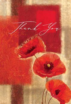 Rustic Poppy - Thank You Card #greetingcards #printable #diy #thankyou #notes #thanks Happy Birthday Floral, Happy Birthday Friend, Thank You Wishes, Thank You Cards, Sign Image, Thank You Card Template, Printable Cards, Poppies, Greeting Cards