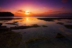 dalijo:    One fine sunset at Balangan Beach, Bali, Indonesia.