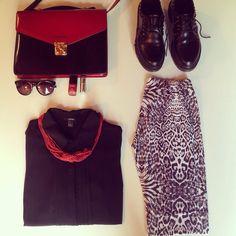 ❤️  Moschino vintage bag Dr martens shoes   #marilenaguadalaxara