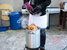 How to Deep Fry a Turkey Without Killing Yourself, Indoors and Out   Serious Eats