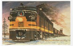 Soo Line Iron Ore Railroad Train Moose Lake Minnesota Russ Porter Postcard | eBay