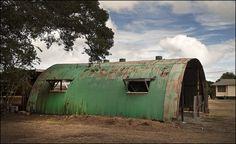 Green Quonset Hut, Waimanalo   by NoJuan