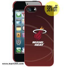 COVEROO 590-550-RD-FBC iPhone® 5/5s Case (Miami Heat) #Miami heat #heat pone case