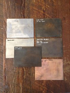 metal finishes