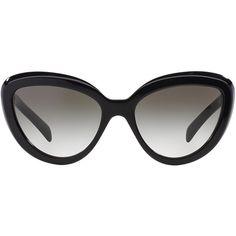Prada PR 08RS 57 Sunglasses found on Polyvore