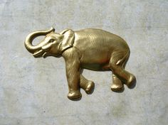Brass Elephant Stampings   Brass Lot  Adornment by 2VintageGypsies