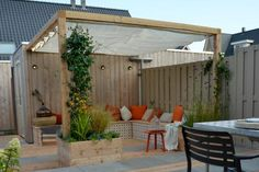 Pergola De Hierro DIY - Outdoor Pergola With Roof - Metal Pergola Lighting - Free Standing Pergola - Pergola De Madera Plantas Diy Pergola, Retractable Pergola Canopy, Pergola Carport, Small Pergola, Pergola Attached To House, Deck With Pergola, Outdoor Pergola, Backyard Patio, Metal Pergola