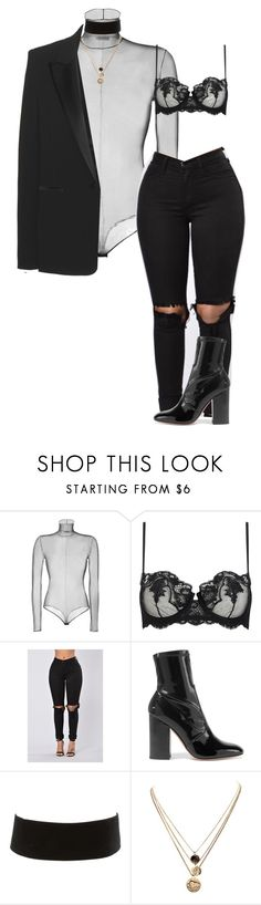 """amore"" by ishqgul ❤ liked on Polyvore featuring Akris, La Perla, Valentino, Charlotte Russe, LowLuv and Tom Ford"
