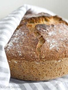 Langhevet glutenfritt brød