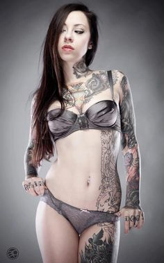 Gogo Blackwater/Gogo Suicide (of the Suicide Girls)