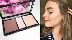 NYX Cosmetics Review Part II Face & Eyes Anverelle Cream Highlight and Contour