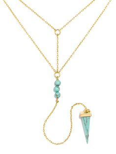Organic turquoise blends boho vibes into an ultra modern silhouette. Turquoise stone will show surface variance.