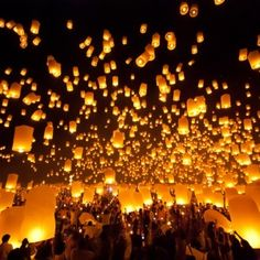 Flights to Chiang Mai (CNX). Find cheap tickets to Chiang Mai explore more choices at lowest prices with Travel Trolley on all London to Chiang Mai flights Floating Lanterns, Sky Lanterns, Paper Lanterns, Fireworks Festival, Round The World Trip, Bangkok Hotel, Lantern Festival, Northern Thailand, Jolie Photo