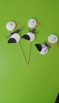 Popsicle Stick Crafts For Kids, Valentine's Day Crafts For Kids, Animal Crafts For Kids, Sunday School Crafts, Christmas Crafts For Kids, Craft Stick Crafts, Art For Kids, Insect Crafts, Bird Crafts