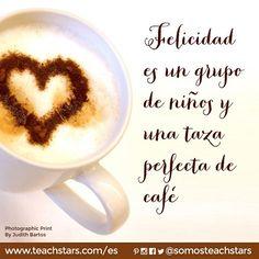 Felicidad es un grupo de niños y una taza perfecta de café. ¡Feliz Martes, #Teachstars! ☀️ #profesora #profesoras #teachersfollowteachers #educacion #preescolar #maestra #docente #docencia #vidademaestra