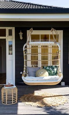 70's Love Seat (August delivery) | Byron Bay Hanging Chairs
