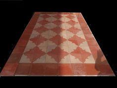 Antique encaustic tiles - panel  264 tiles - 113sq ft floor or wall