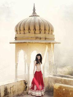 Indian Bridal Lehenga Choli Anita Dongre New Ideas Indian Bridal Lehenga, Indian Bridal Fashion, Indian Bridal Wear, Indian Wear, Indian Attire, Indian Outfits, Indian Clothes, Eid Outfits, Indian Look