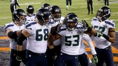 The Seahawks won the Super Bowl last night, thanks to a strong effort by their Legion of Boom defense. Some think that this Seahawks defense may be one of the best of all time. What do you think? Seattle Seahawks, Denver Broncos Football, Football Helmets, Seahawks Vs, Super Bowl, Nfl Playoffs, Espn, Sports, Effort