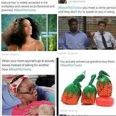 Black Twitters newest trend #blackplottwists | Follow @melaninprincess