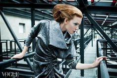 Makeup; Me dress : Joanna Hawrot photo : Krzysiek Hawrot hair : Wojtek Kasprzak , stylist : Joanna Hawrot, Olka Kaźmierczak model : Agnieszka / SPECTO